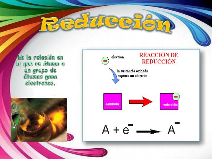 Reducción