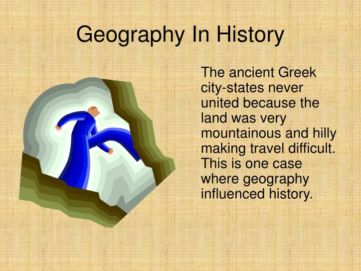 Geography In History