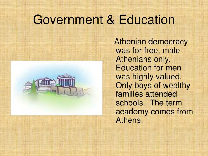 Government & Education