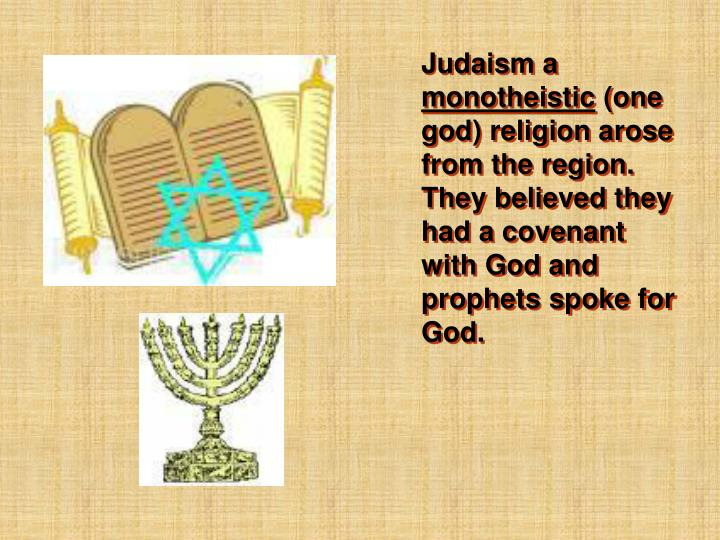 Judaism a