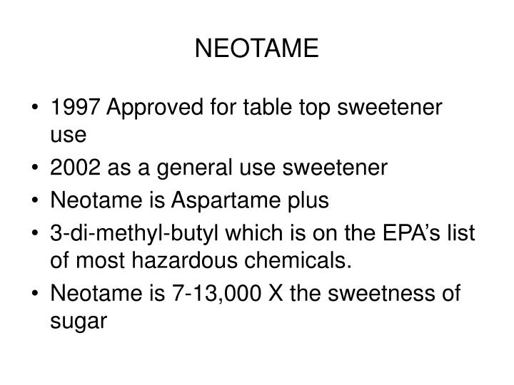 NEOTAME