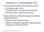 income vs consumption tax