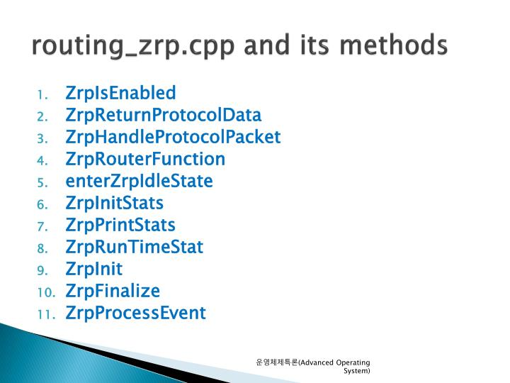routing_zrp.cpp and its methods