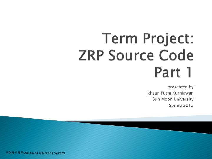 Term project zrp source code part 1