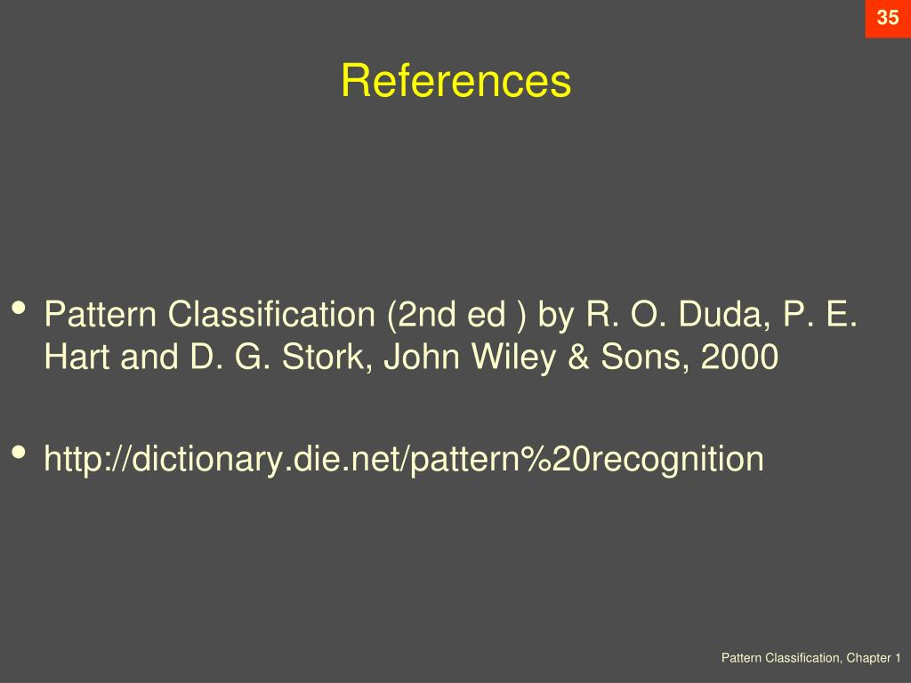 Ppt Chapter 1 Introduction To Pattern Recognition Sections 1 1 1 6 Powerpoint Presentation Id 3830397