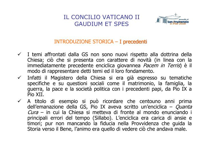 Il concilio vaticano ii gaudium et spes2