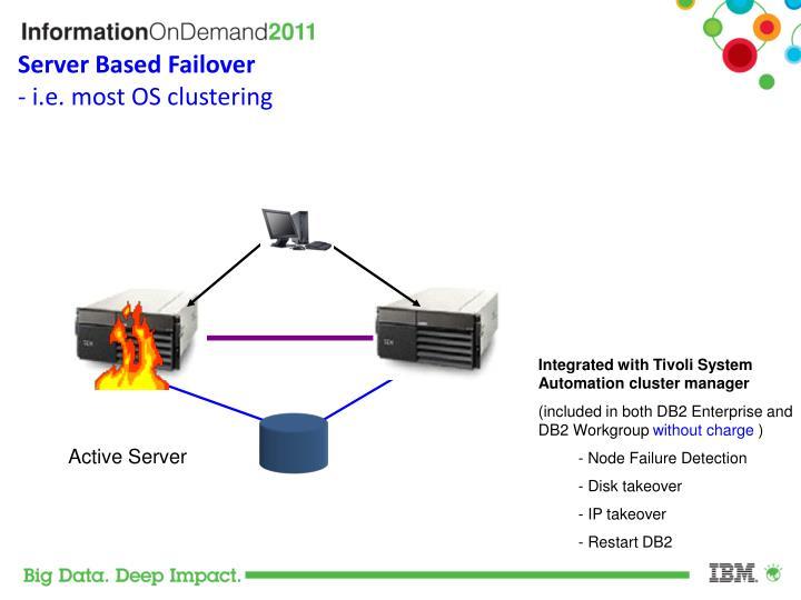 Server Based Failover