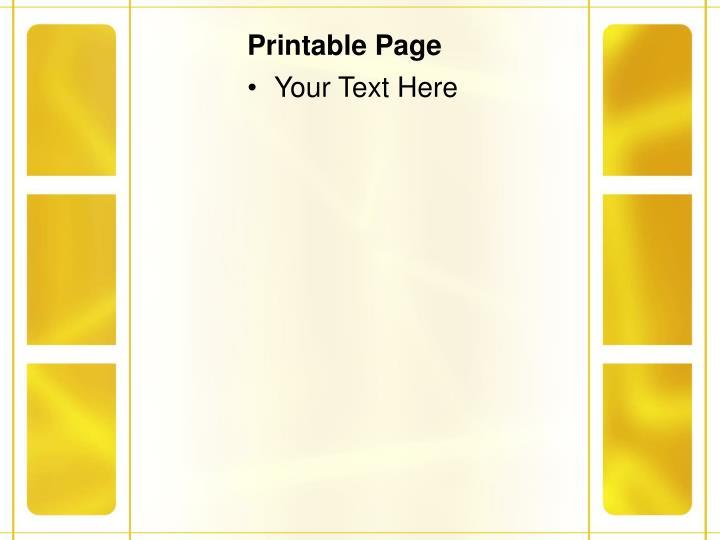Printable page