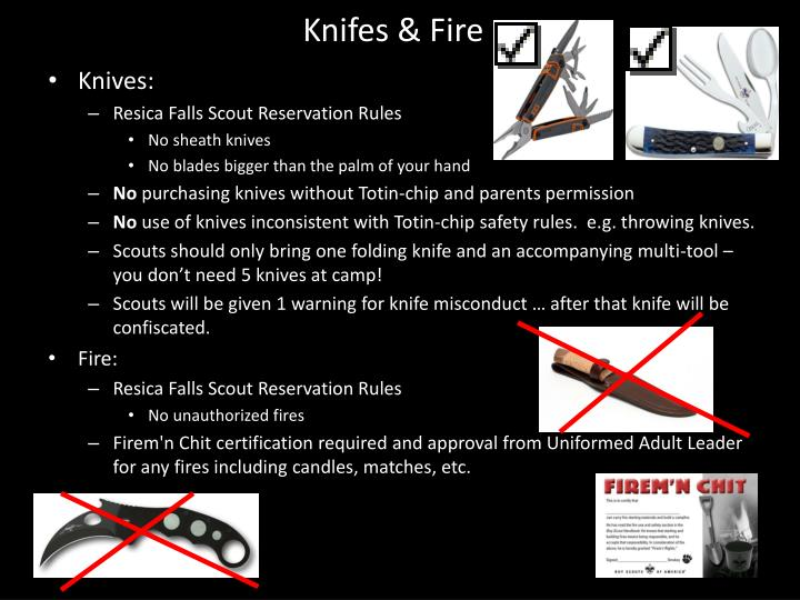 Knifes & Fire