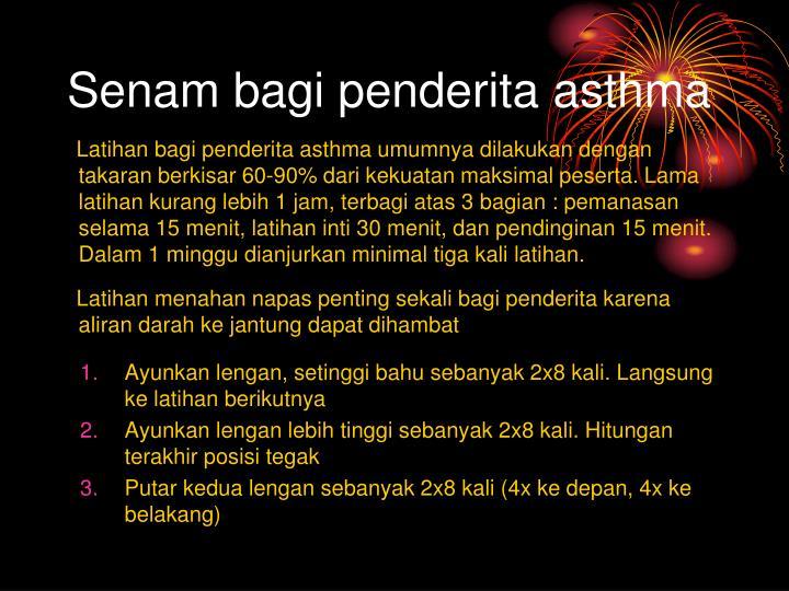 Senam bagi penderita asthma