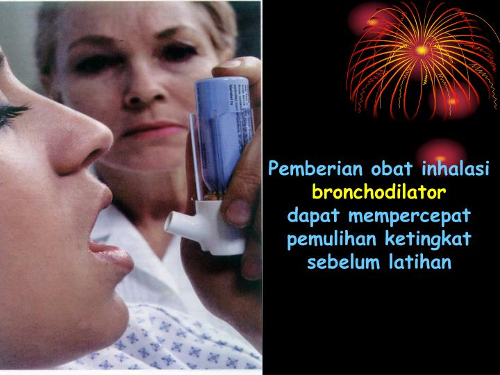 Pemberian obat inhalasi