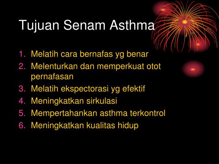 Tujuan Senam Asthma