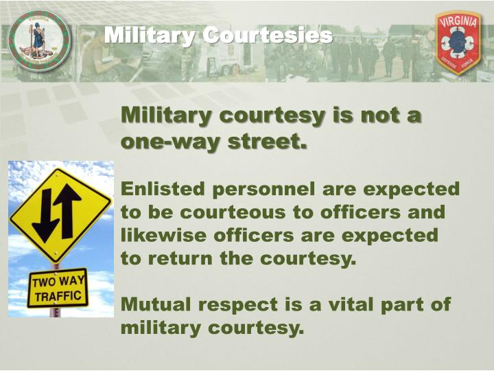 military courtesy and respect essay