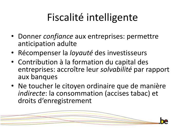 Fiscalit intelligente