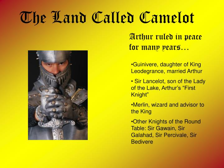 The Land Called Camelot