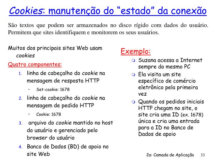 Muitos dos principais sites Web usam