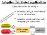 adaptive distributed applications