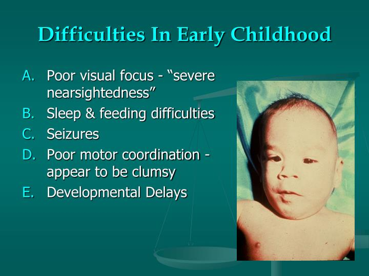 Difficulties In Early Childhood