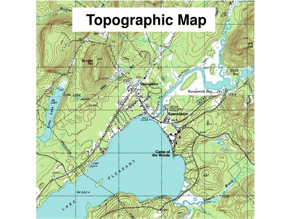 ppt topographic map powerpoint presentation id 3833957