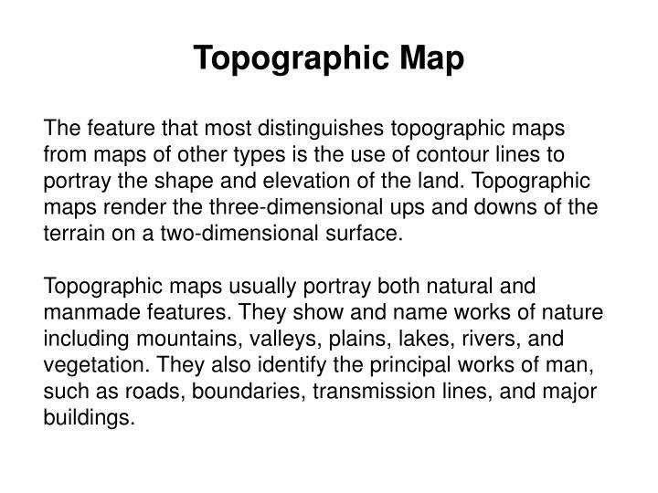 Topographic map1