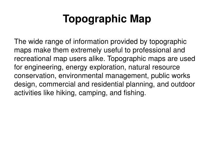 Topographic map2