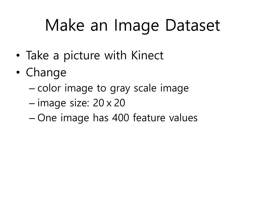 PPT - Make your data with Kinect PowerPoint Presentation