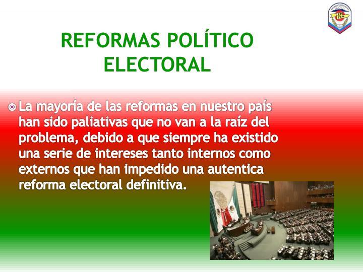 Reformas político