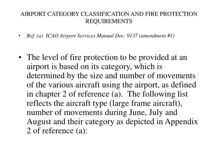 airport services manual (doc 9137)