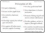 principles of afl