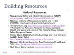 building resources1