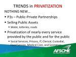 trends in privatization