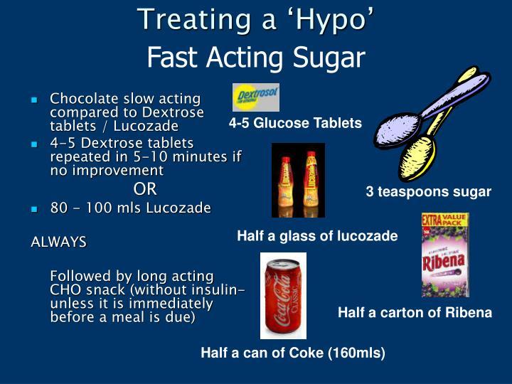 Treating a 'Hypo'