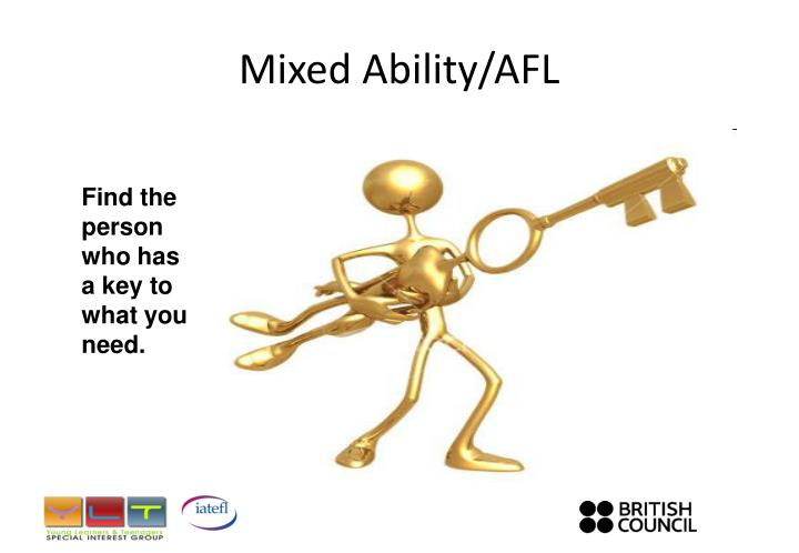 Mixed Ability/AFL