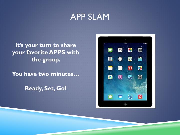 App slam