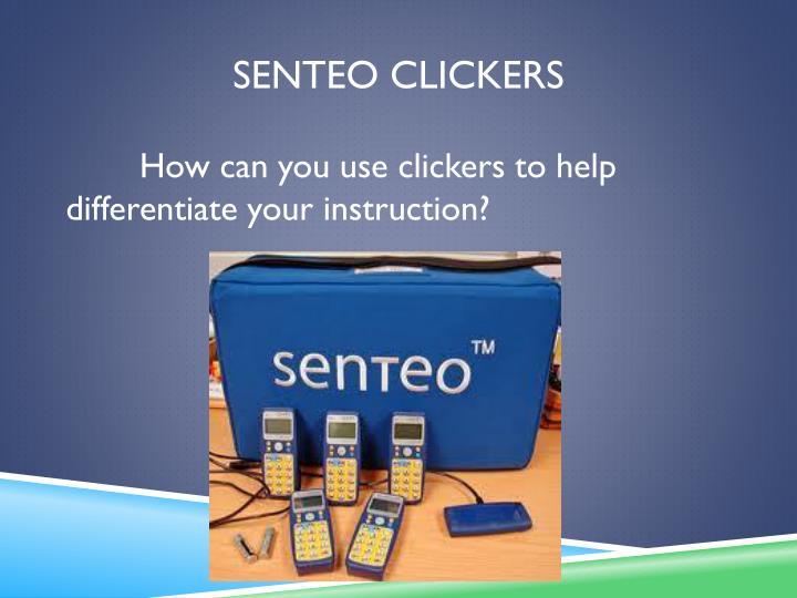 Senteo Clickers