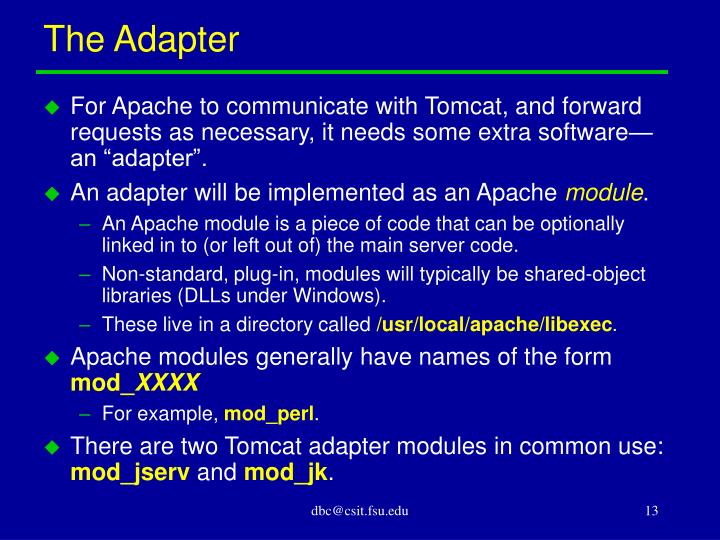 The Adapter