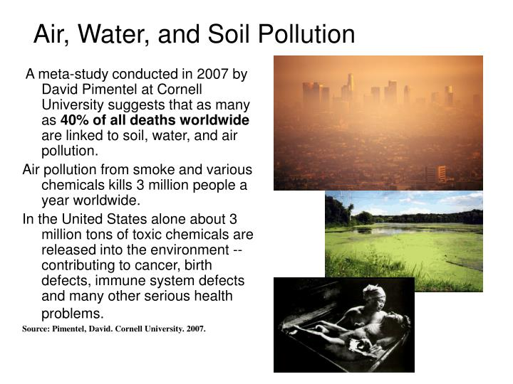 case study on soil pollution Essays - largest database of quality sample essays and research papers on case study on soil pollution.