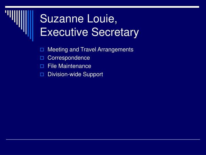 Suzanne Louie,