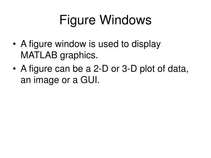 Figure Windows