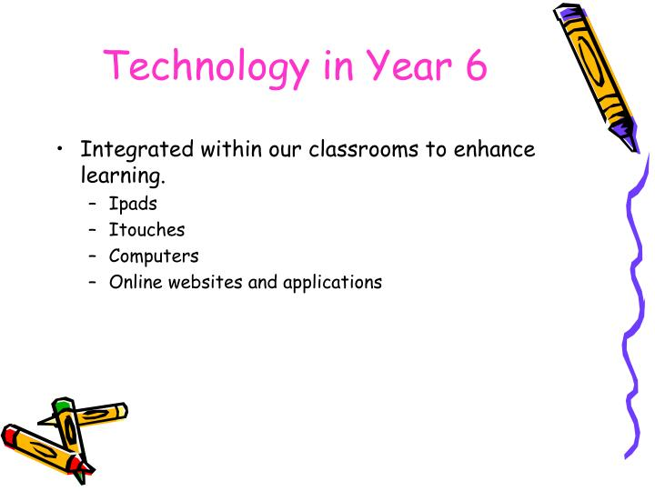 Technology in Year 6