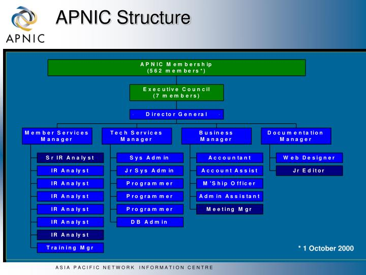 APNIC Structure