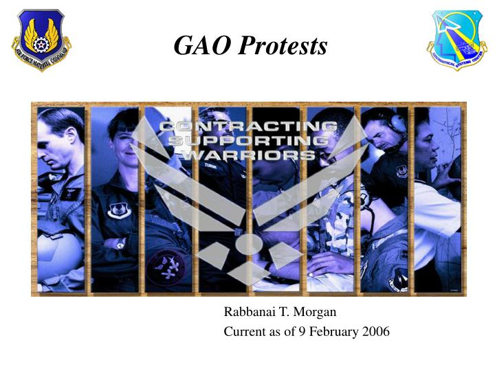 gao protests n.