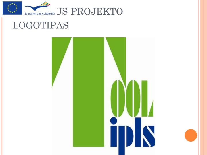 Oficialus projekto logotipas