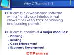 why ctpermits 1