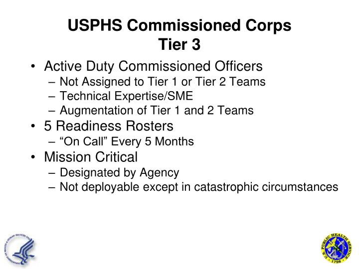 USPHS Commissioned Corps