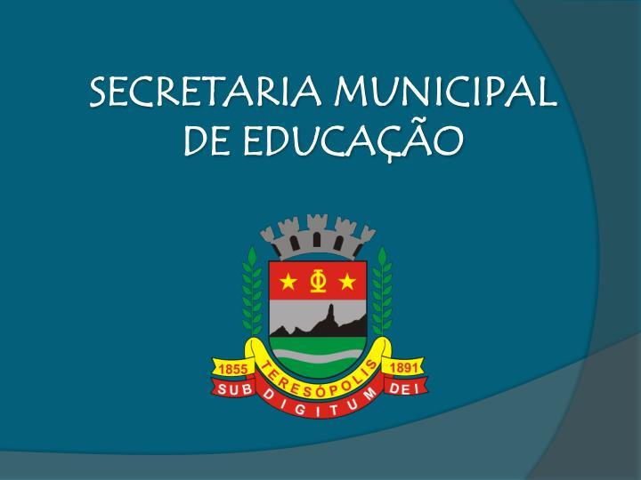 SECRETARIA MUNICIPAL