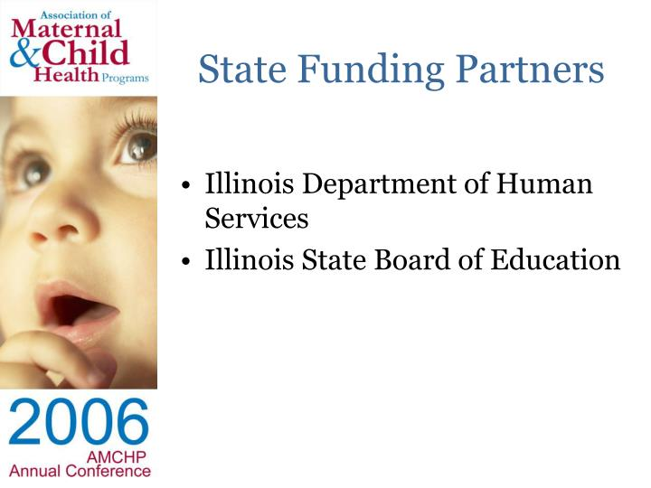 State Funding Partners