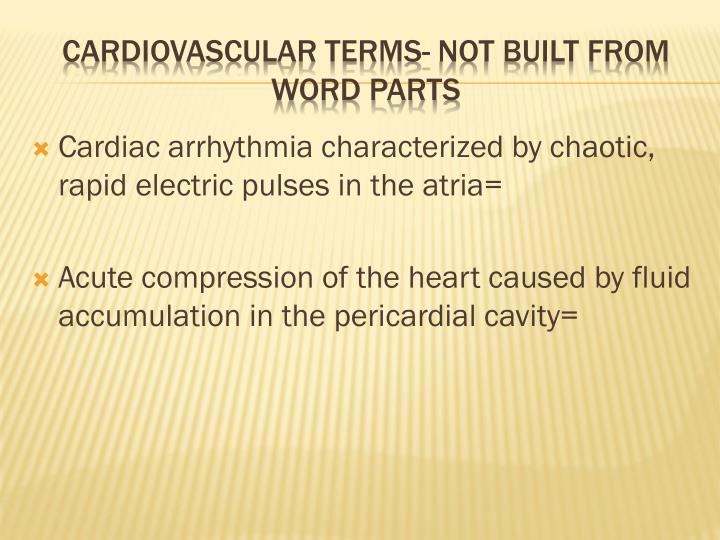 Cardiac arrhythmia characterized by chaotic, rapid electric pulses in the atria=