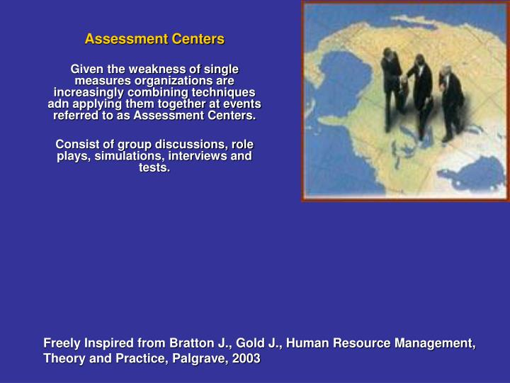Assessment Centers