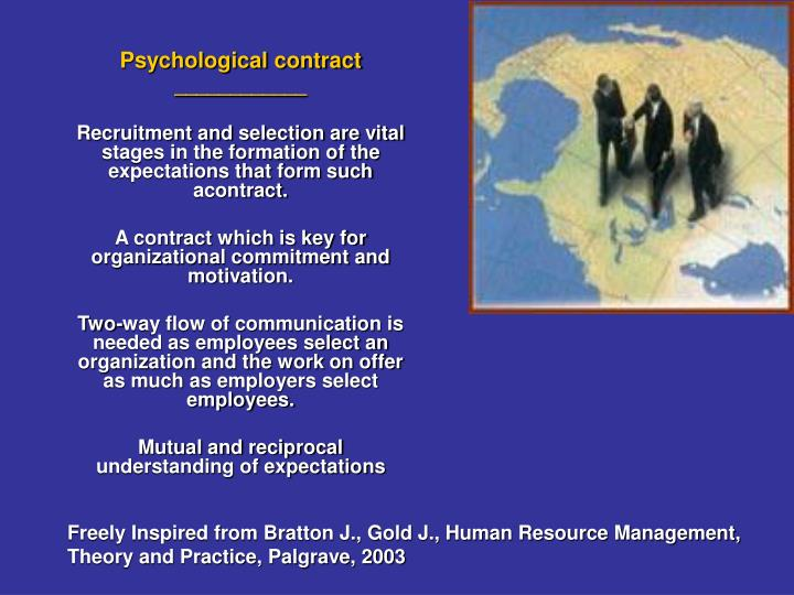 Psychological contract